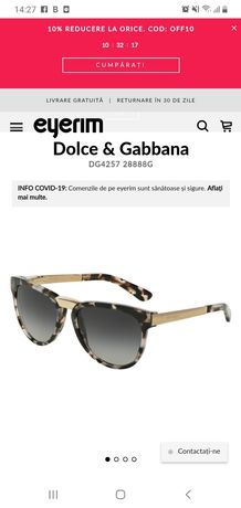 Ochelari de soare Dolce&Gabbana DG4257