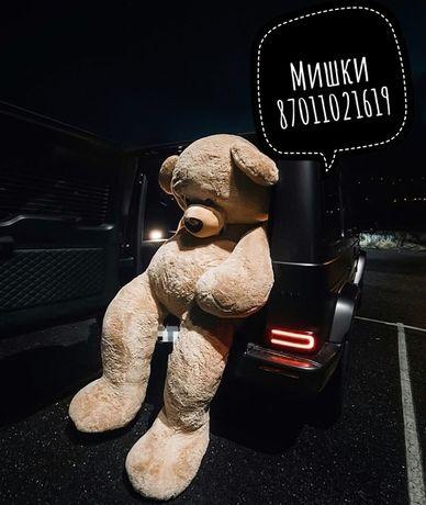 Мишка Тедди плюшевые Большие 2м