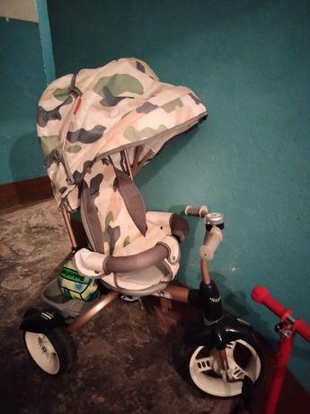 Велосипед коляска. Ника.