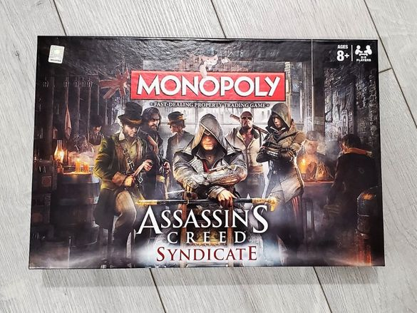 Monopoly - Assassins's Creed Syndicate Настолна игра