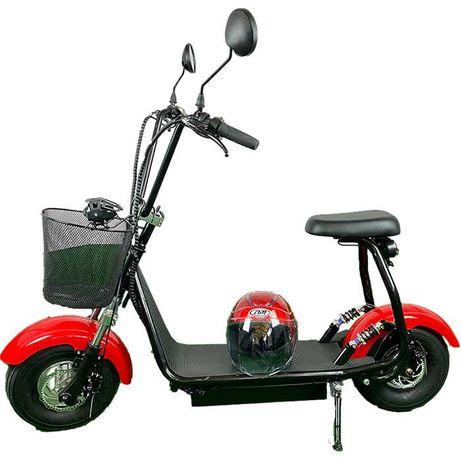 Електрически скутер,чопър Harley 1200W 48V/12ah с подарък каска