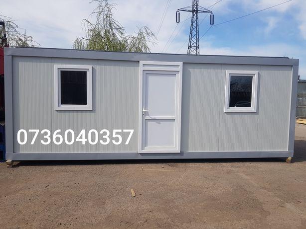 Container modular 6x2.4 7x2.4 pe stoc containere birou vestiar