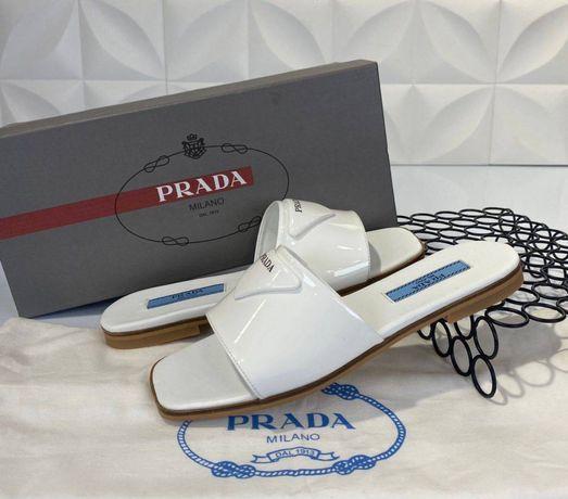 Papuci-Slapi Prada  -piele naturală-POZE REALE- calitate superioară:mă