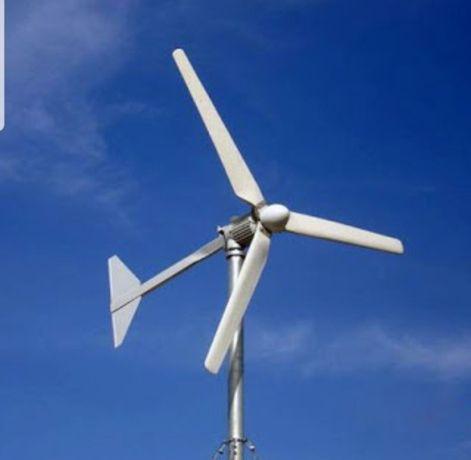 Ветряки. Солнечные батареи. КХ. Электричество