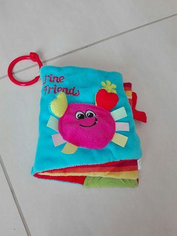 Занимателна книжка от плат, играчка за гушкане