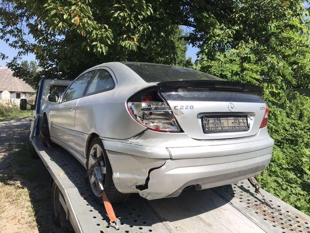 Dezmembram Mercedes C class coupe motor 2,2 diesel