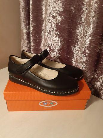 Продам туфли из натуральной кожи tiflani Турция