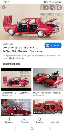Revista Dacia macheta / schimb laptop