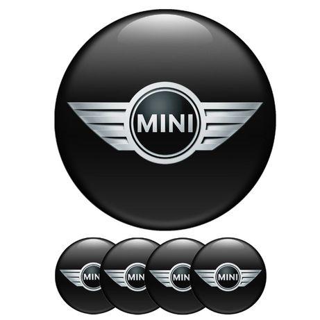 Силиконови стикери за капачки на джанти Mini Cooper размери 40мм до 90