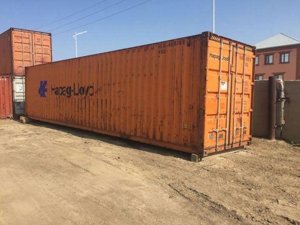 Продам в Кызылорде контейнер морской 40 футовый и 20 футовый