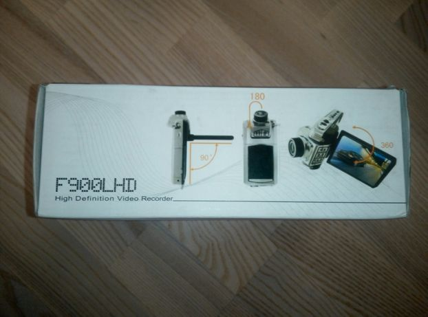 Видеорегистратор F900LHD black FullHD + flash card 16Gb