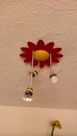 Vand corp de iluminat pentru camera copiilor - Timeo Massive-Kico