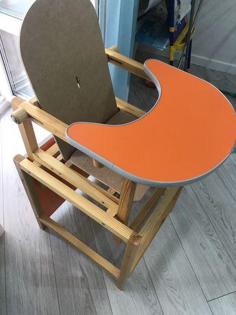 Детский стульчик для кормления 2в1