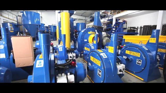 Moară cu aspirație Dozamech 11 KW - 1200 kg/h - garanție inclusa 2 ani