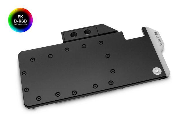 Waterblock + Backplate EK-Quantum Vector pentru EVGA RTX 2080 Ti FTW3