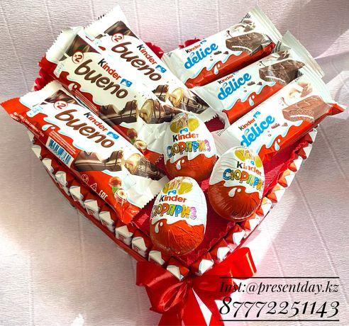 Шикарные киндер торт для подарка. По низкой стоимости