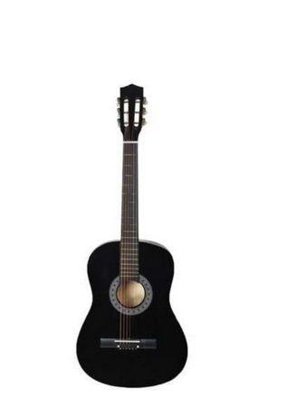 Chitara clasica din lemn 4/4  black,red,blue,cappucino,natural