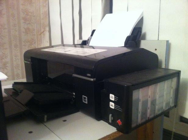 Цветной (6-ти цветный) принтер Epson L-800 проверенная временем модель
