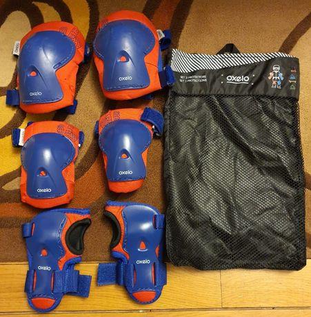 Set 3 Protecţii pentru copii - genunchiere, cotiere si protectie palme