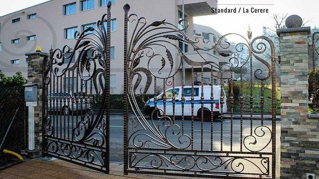 Porți si garduri din fier forjat