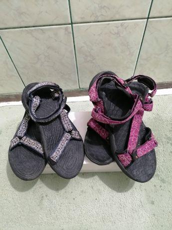 sandale Teva și Jack Wolfskin