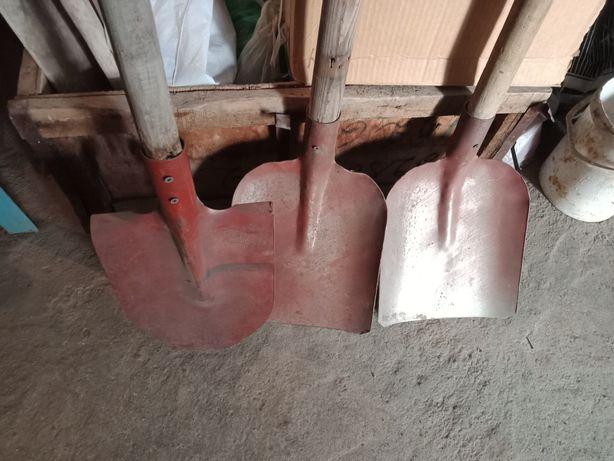 Лопаты железные,новые.