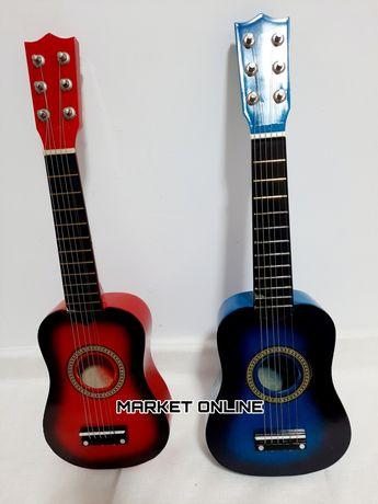 Chitara din lemn pentru copii 55CM 6 corzi