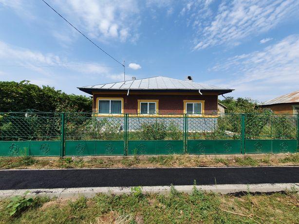 Casa caramida cu teren 7750 mp intravilan com. Lehliu sat Sapunari