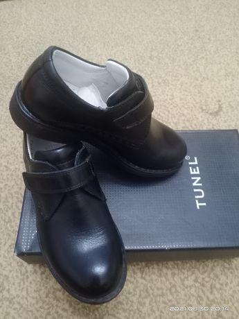 Продаются туфли кожаные , производство Турция,  Tunel , размер 27