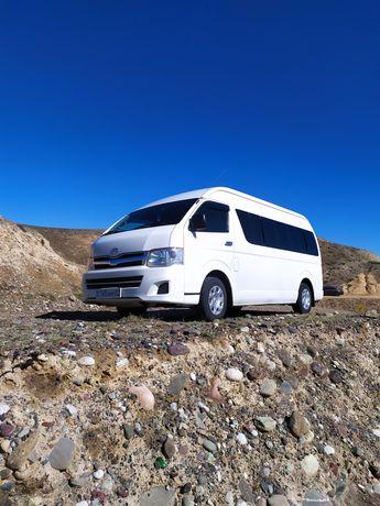 Аренда,услуги микроавтобуса Toyota Hiace,14 п/м.