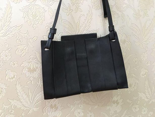 Продам сумку из натуральной кожи, через плечо crossbody bag.