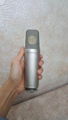 Студийный микрофон! Rode nt 1000