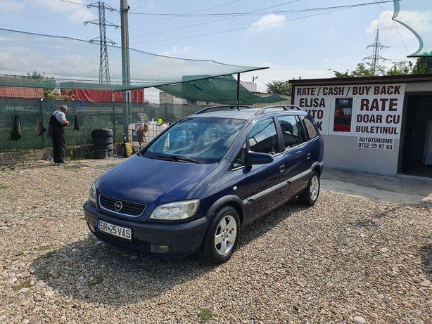 Parc Auto vind Opel Zafira 1.6 benzina fab 2002 pret 1350e RATE
