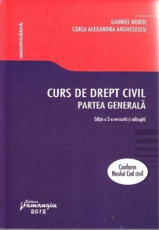 Curs de Drept Civil de Gabriel Boroi format PDF