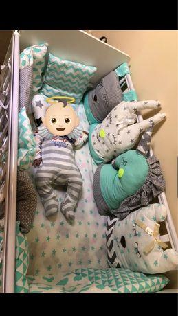 Бортики одеяло на детскую кровать