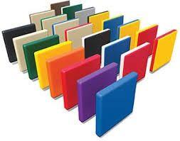 Продаваме цветни полиетиленови листове и плоскости HDPE 12 мм.