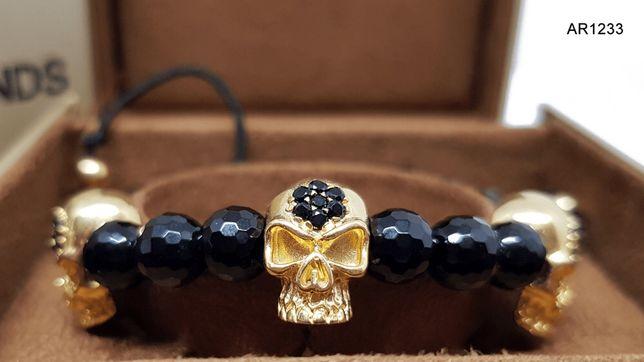 Bratara Unisex Skull Collection ARJEWELS&DIAMONDS(AR1233)