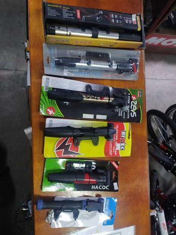 Насосы велосипедные с монометром, напольные, ручные Доставка РЕД Каспи