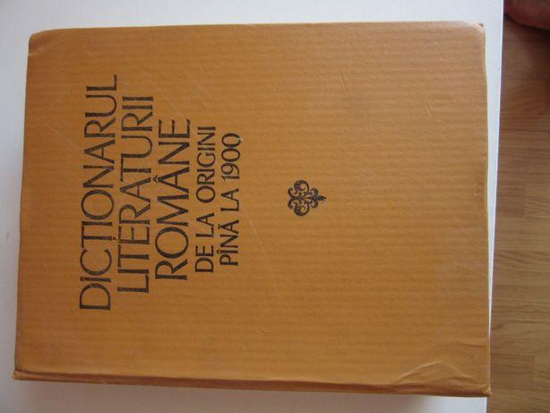 Dictionarul literaturii romane de la origini pana la 1900, 1979!