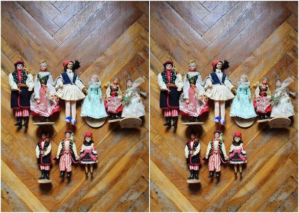 Колекционерски полски кукли от осемдесетте