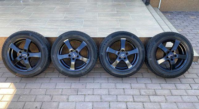 Jante Aliaj Dezent Negru Mat >Germany 16 5x112 AUDI-VW 205.55.16 Conti