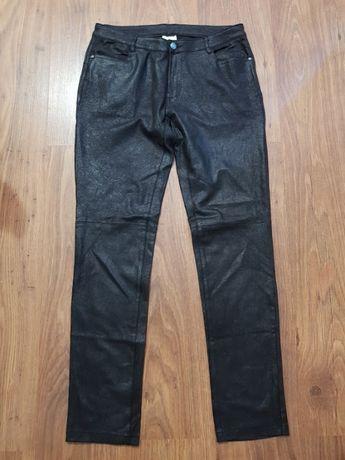 Pantaloni dama Once,imitatie piele crapata,marimea 40,noi,45 lei