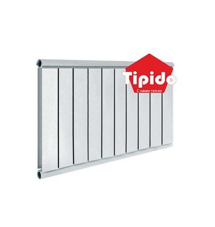 Радиатор алюминиевый / батарея Tipido 500/10 (б/комплекта)