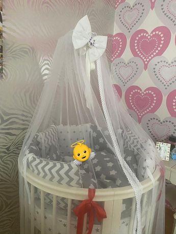 Кроватка-трансформер 8в1 Premium Baby