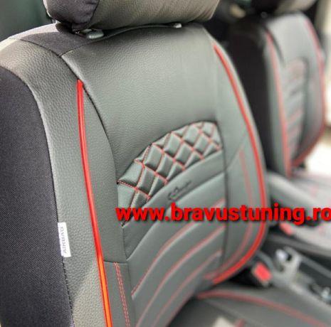 Huse scaun auto Piele Ecologica Audi,BMW,Skoda,Opel,Logan,Vw etc