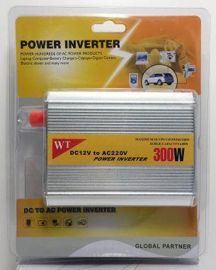 Invertor De Tensiune, 12V → 220V - 300W + 5V, USB