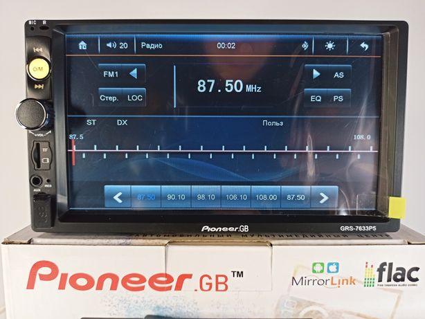 2DIN Магнитола Pioneer GB 7633P5 автомагнитола