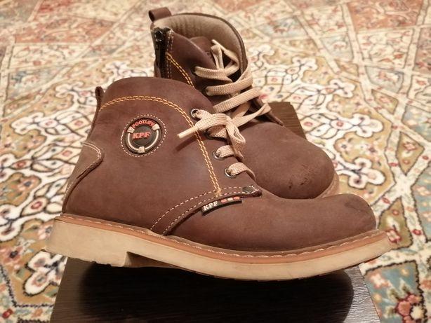 Продам демисезонные детские ботиночки для мальчика, Турция, К. Pafi.