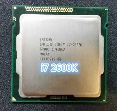 Процессор Intel Core i7 2600k