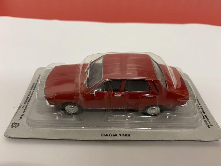 DACIA 1300 machetă auto de colecție scara 1:43 DEAGOSTINI POLONIA